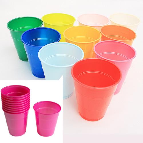 PVC컵(색상선택/10개입)