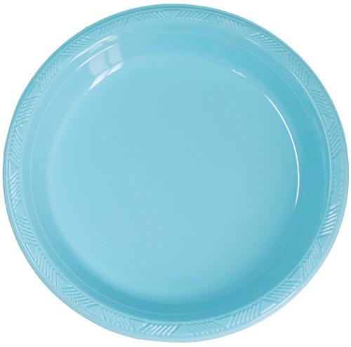 PVC접시)라이트블루(소/중/대)