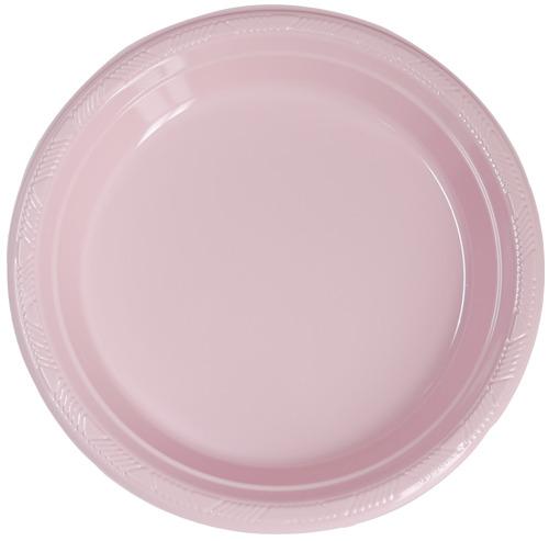 PVC접시)핑크(소/중/대)