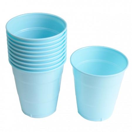 PVC컵)라이트블루(소/대)